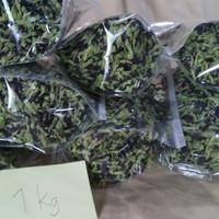 Bunga telang kering siap seduh 1 kg