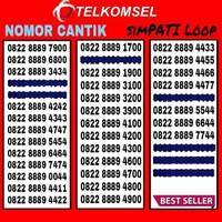 Jual Nomor Cantik Simpati PROMO Murah Meriah Kartu Perdana Telkomsel Loop Murah