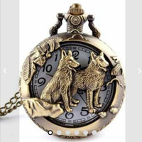 Harga pocket watch jam saku kalung leher dog | antitipu.com