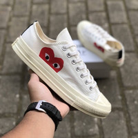 Sepatu Converse All Star 70s Ox x CDG Play Hide Love Off White Murah
