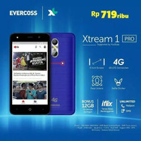 Hp Evercoss Xtream 1 Pro M50 Star Ram 1/8GB Garansi Resmi