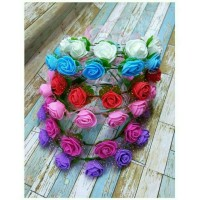 Mahkota bunga/ flower crown/head pieces/bando bunga import