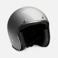 HELM RETRO ZULU VIPER GREY CHROME