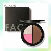 Focallure blush highlight contour