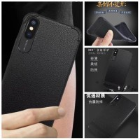 hcs754 K2 PREMIUM CASE ANTI CRACK LEATHER AUTO FOCUS SAMSUNG J7 PLUS,J