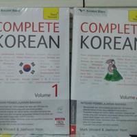 "BUKU BAHASA KOREA "" PAKET COMPLETE KOREAN+ CD AUDIO """