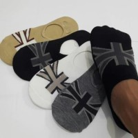 wg Kaos Kaki Pria Pendek untuk Sepatu Wakai dengan motif