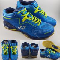 Sepatu Badminton Yonex Power Cushion 750 Ergoshape Blue Volt