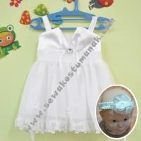 Baju Pesta Untuk Bayi warna Putih