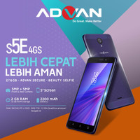 HP Android Advan S5E 4GS Ram 2GB
