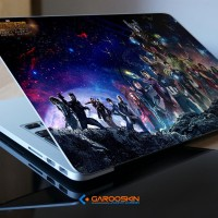Skin Laptop Axioo 17 Inch Avenger Custom