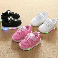 Sepatu anak led sepatu anak menyala sepatu anak lampu sepatu sneakers
