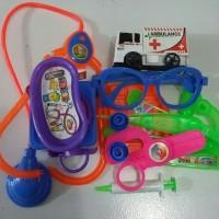 Mainan The Docter Set (peralatan dokter) edisi ke 2
