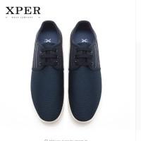 Harga original xper men shoes lace up breathable lighty sepatu pria   antitipu.com