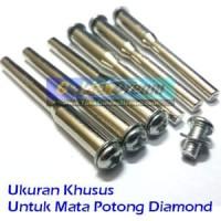 Batang As Mata Diamond Gerinda Grinding Potong Mini Grinder Tuner
