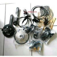 Groupset Shimano Deore M6000 10 Speed 11-46T