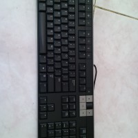 murah keyboard dan mouse multimdia komputer pc dell original