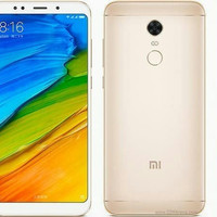 HP XIAOMI REDMI 5 PLUS (XIOMI MI RAM 4/64GB) GOLD BLACK / EMAS HITAM