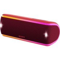 Sony Extra Bass Portable Bluetooth Speaker SRS - XB31 - Red