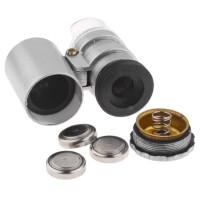 LED Batu Cincin Mikroskop MICROSCOPE PLUS ULTRAVIOLET MINI LED 60x