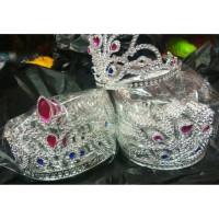 Mahkota silver crown king princes crown thumbnail