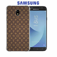 Casing Hp LV Pattern Samsung Galaxy J5 Pro(2017)/J530 Custom Case