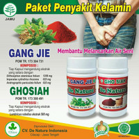 Obat Sipilis Gang Jie & Gho Siah Herbal - Original 100%