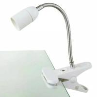 Lampu Meja/belajar Jepit Flexible E27/fitting Lampu Reptile/Kerja E 27