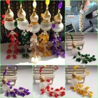 Harga ca037 gantungan kaca spion mobil tempat parfum pengharum | Pembandingharga.com