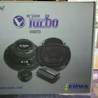 Speaker split/component 2 way venom turbo VX6TO mobil odyssey