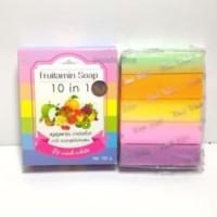 Harga fruitamin soap 10 in 1 by wink white sabun pemutih | Hargalu.com