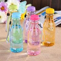 Botol Minum Unik BPA Free Anti tumpah - KHB012