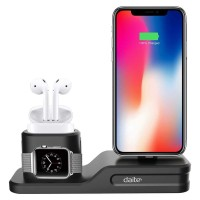 Dock Stand Holder iPhone Airpods iWatch/ Charger Dock Apple Watch