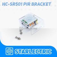 Bracket Mounting Dudukan Sensor PIR Holder HC-SR501 Acrylic Case
