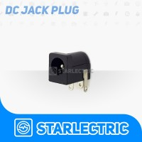 Socket Soket DC Female Jack DC 5.5X2.1MM PCB