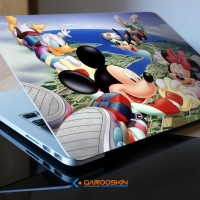 Sticker Laptop Fujitsu 14 Inch Mickey Mouse Custom