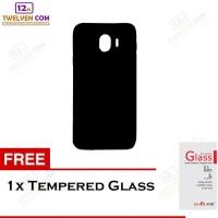 Case Slim Matte For Samsung J4 2018 - Free Tempered Glass
