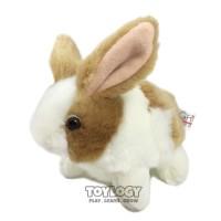 Boneka Kelinci ( Grow Rabbit Stuffed Plush Animal Doll ) Coklat-Putih