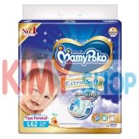 Harga popok perekat bayi mamypoko tape extra dry l 62 | Pembandingharga.com