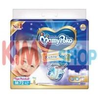 Harga popok perekat bayi mamypoko tape extra dry m 72 | Pembandingharga.com