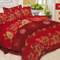 BED COVER SET INDIANA BONITA DISPERSE 180X200 KING