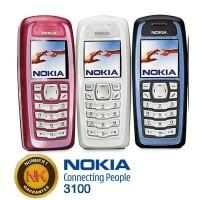 NEW NOKIA/HP 3100 JADUL, REFUBISHED, BERGARANSI, HANDPHONE BARU. ORI
