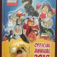 Lego Annual Official 2018 + 2017 book in one package