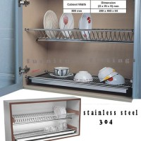 Rak piring stainless steel 304 ( size 500 mm ) knockers