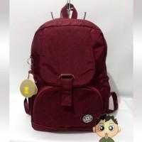 Jual Tas Kipling Wanita Ransel MD 950 Marun Asli Original Backpack Sekolah Murah