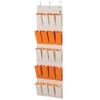 LOCK&LOCK Eco Living Hanging Storage Pocket 20 Shelf Orange LLB253O