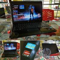 Laptop seken mulus HP 1000 black series GAMER & DESAIN