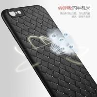 Case Vivo V5 V5s V5 Lite soft cover casing hp tpu leather kulit WOVEN
