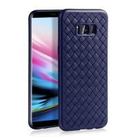 Case Samsung S8 Edge - S8 Plus soft cover casing hp tpu leather WOVEN