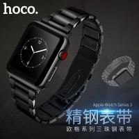 Apple Watch Strap HOCO Stainless Steel Grand series Slimfit Black/Tarn